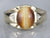 Men's Mid Century Tiger's Eye Ring