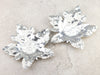 Sterling Silver Maple Leaf Dish Set