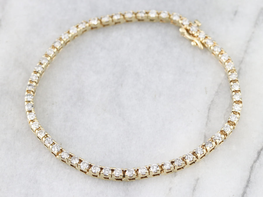Vintage Diamond Tennis Bracelet