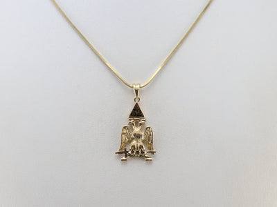 Vintage 32nd Degree Masonic Pendant