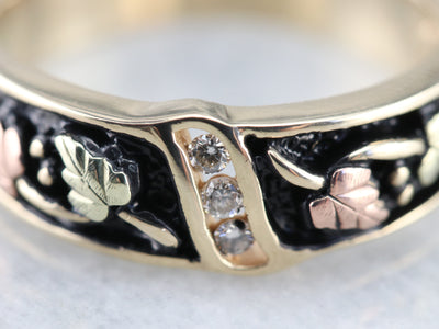 Black Hills Gold Diamond Band