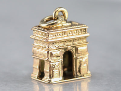 Paris Arc De Triomphe Charm