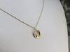 Modernist Yellow Gold Family Pendant
