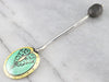 English Sterling Silver Coffee Spoon