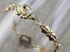Retro Era Gold Decorative Link Bracelet