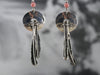 South West Style Silver and Quartz Drop Earrings