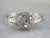 Edwardian European Cut Diamond Ring