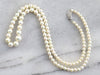 Vintage Graduated Pearl Beaded Necklace