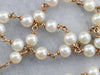 Vintage Pearl Beaded Necklace