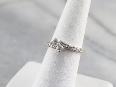 Vintage Diamond Bypass Ring