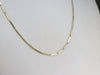 Vintage Gold Bar Link Chain Necklace