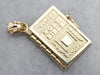Gold Holy Bible Vintage Charm