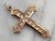 Victorian Gold Fill Etched Cross