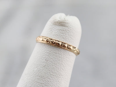 Vintage Heart Pattern Band