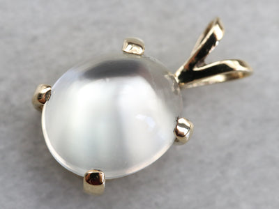Gold Moonstone Pendant