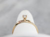 Black Hills Gold Diamond Solitaire Ring