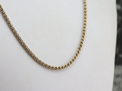 Victorian Gold Chain Necklace