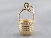 Vintage Nantucket Basket Charm
