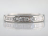 Platinum and Diamond Wedding Band