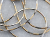 Mixed Metal Italian Gold Snake Chain