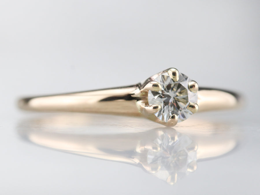 Classic Diamond Solitaire Ring