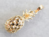 Vintage Gold Pineapple Charm
