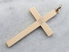 "Antique Monogram ""HFM"" Cross Pendant"