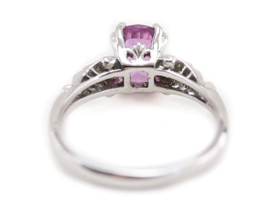 The Hathaway Pink Sapphire Engagement Ring by Elizabeth Henry