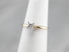 Vintage Diamond Solitaire Ring