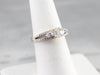 Modern Emerald Cut Diamond Engagement Ring