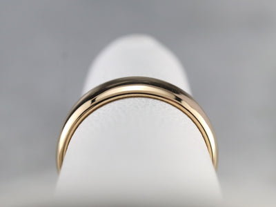 Antique Yellow Gold Wedding Band