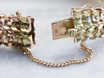 High Karat Gold Chain Link Bracelet