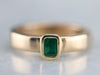 Arthritic Emerald Solitaire Ring