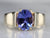 Tanzanite Solitaire Statement Ring