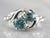 Botanical Blue Zircon Bypass Ring