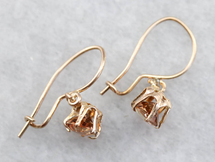 Rare Andalusite Drop Earrings
