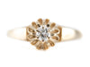 The Cathedral Diamond Solitaire Ring by Elizabeth Henry