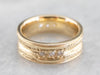 High 18K Gold and Diamond Band
