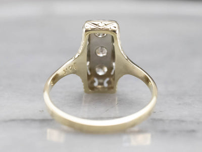 Early Retro Era Diamond Ring
