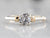 Retro Era Diamond Solitaire Ring