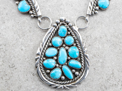 Southwest Style Turquoise Necklace