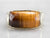 Tiger's Eye Domed Gold Statement Band