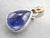 Two Tone Tanzanite Cabochon Pendant