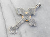 Mixed Metal Knights of Pythias Veteran Cross