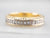 Diamond Encrusted 18K Gold Wedding Band
