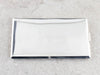 Vintage Plain Sterling Silver Cigarette Case