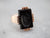 Victorian Rose Gold Black Onyx Intaglio Ring