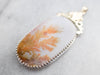 Large Agate Statement Pendant