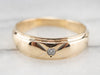 Vintage Diamond Solitaire Band