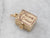 Vintage Gold Hope Chest Charm